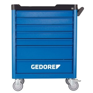 Gedore WSL-L-TS-308 Tool trolley workster smartline with 308 piece kit
