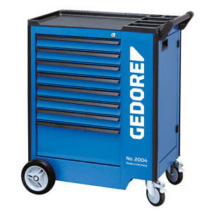 Gedore 1640712 (Series 2004 0701) Tool trolley with 8 drawers