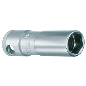 """Gedore 6361500 (Series 52 MH) Spark plug socket with magnet 20.8 mm 3/8"""""""