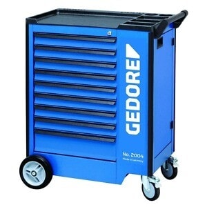 Gedore 1640704 (Series 2004 0810) Tool trolley with 9 drawers