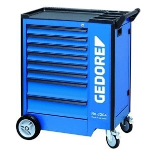Gedore 2657708 (Series 1500 ES-02-2004) Tool trolley with 207-piece tool assortment