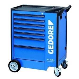 Gedore 2827360 (Series 2004 0511 E) Tool trolley 7 drawers with safe locking