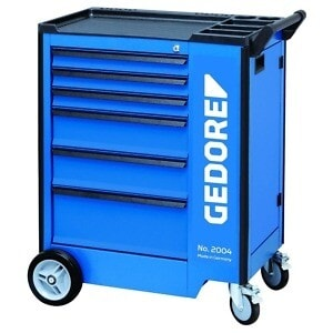 Gedore 1640755 (Series 2004 0321) Tool trolley with 6 drawers