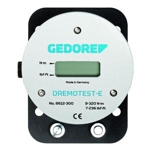 Gedore 1856111 (Series 8612-300) Electronic torque tester DREMOTEST E 9-320 Nm