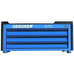 Gedore 1888927 (Series 2430) Tool chest with 3 drawers