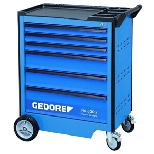 Gedore 2003546 (Series 2005 0321) Tool trolley with 6 drawers