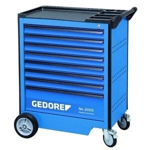 Gedore 2003554 (Series 2005 0701) Tool trolley with 8 drawers