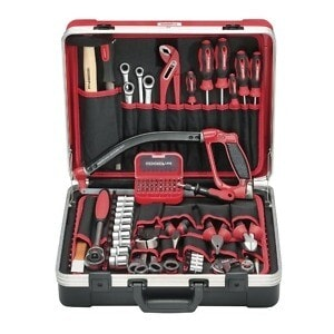 Gedore Red Universal Tool set Basic in tool case 72pcs