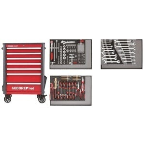 Gedore Red Wingman Tool Trolley with Tool set 129pcs