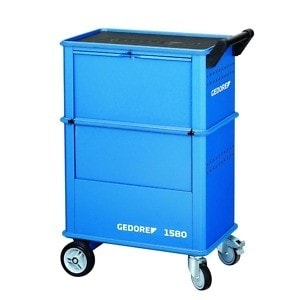 Gedore 6627550 (Series 1580) Tool trolley with 4 drawers
