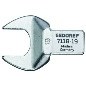 Gedore 1963708 (Series 7118-34) Rectangular open end fitting SE 14x18, 34 mm