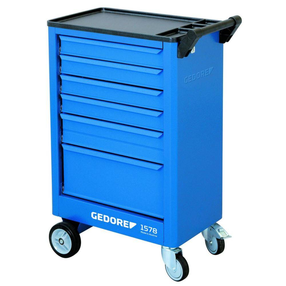 Gedore 9018140 (Series 1578) Tool trolley with 6 drawers